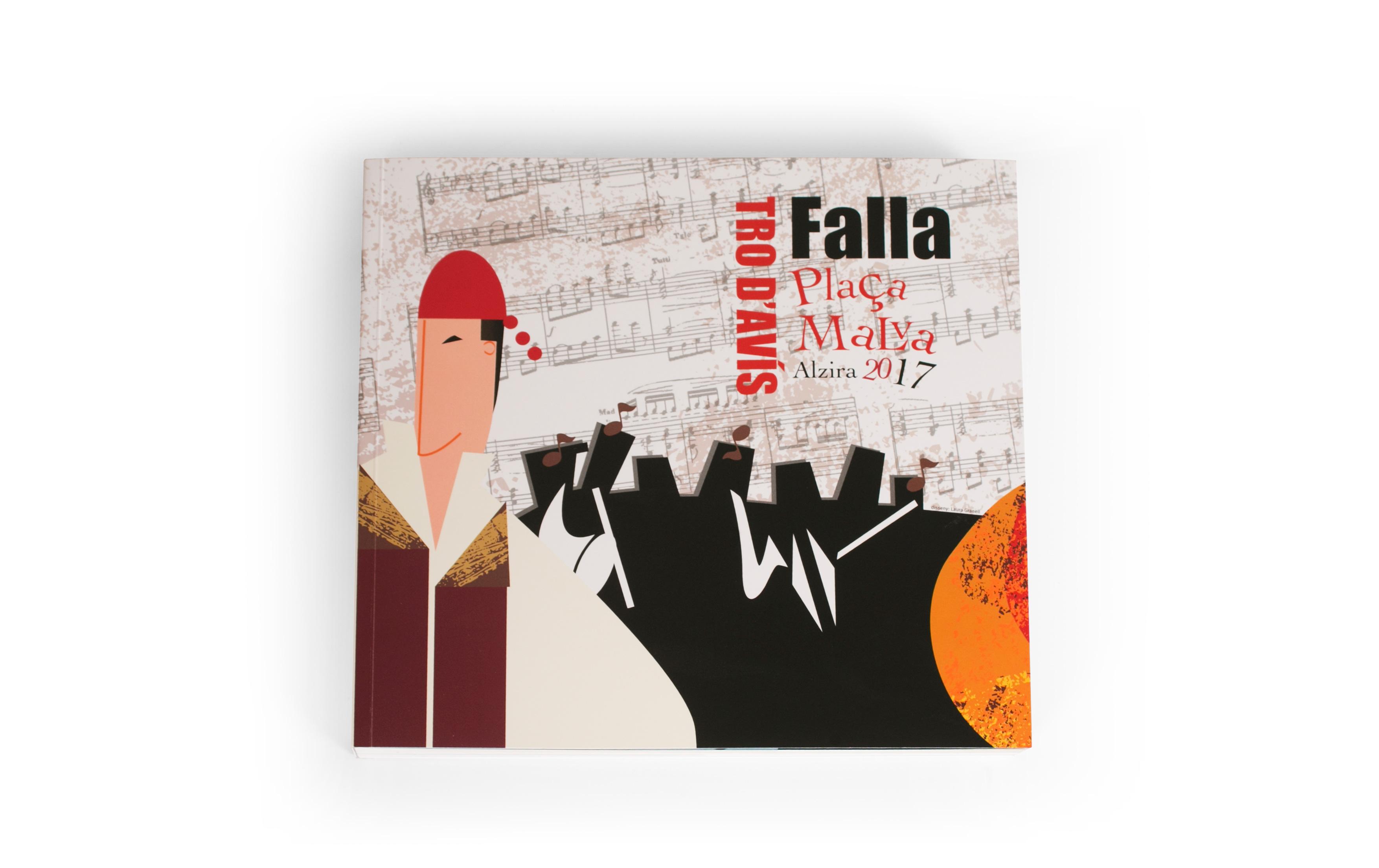 Falla Plaça Malva rinde homenaje a la canción en valenciano