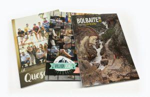 Imprimir un libro de fiestas. Blauverd Impressors. Impresión de libro de fiestas