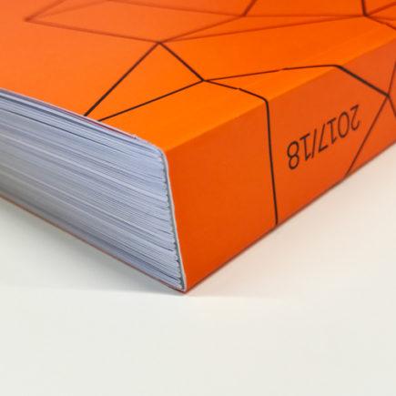 Imprimir catálogo Blauverd Impressos. Imprimir catálogo FM Iluminación. Encuadernación tapa dura o tapa blanda