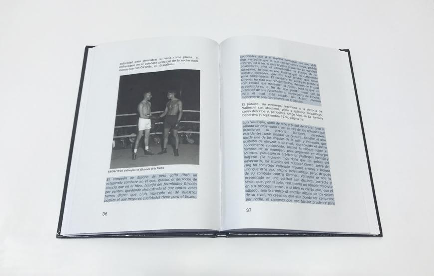 Imprimir en tapa dura. Impresión digital Encuadernación en tapa dura Impresión digital barata Impresión digital económica Lluís Vallespín Ricardo Tejeiro