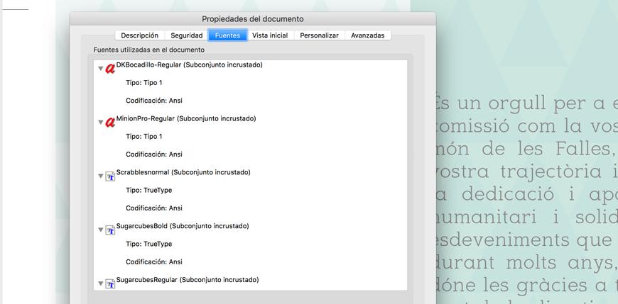 Enviar un archivo para imprimir incrustar fuentes Blauverd Impressors Imprimir libro