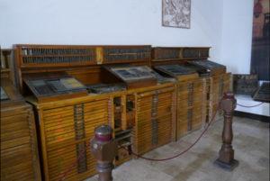 Blauverd Impressors Museo de la Imprenta en el Monasterio de Santa Maria del Puig Imprimir libro