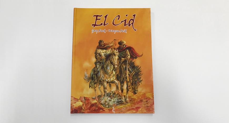 Imprimir el cómic – El Cid, de Ediciones Cascaborra
