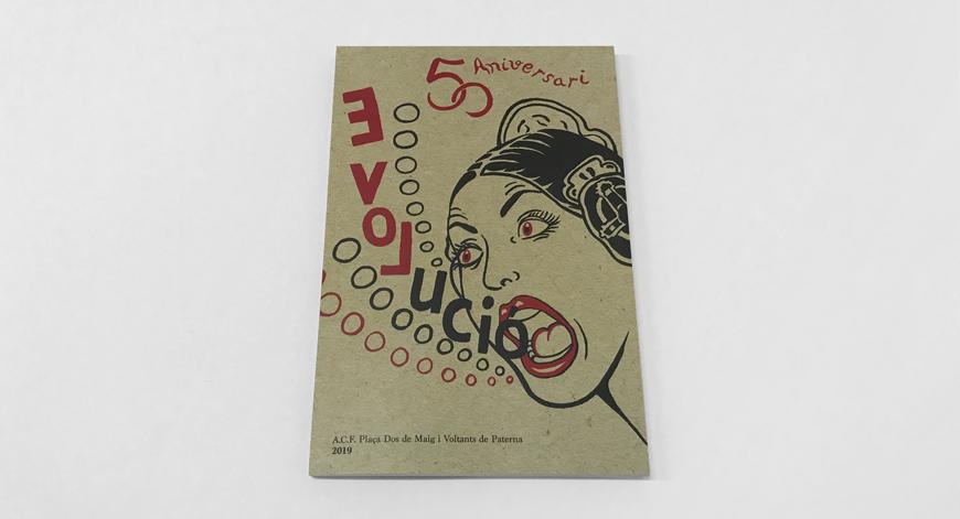 Llibret de la Falla Dos de Maig i Voltants de Paterna 2019 Imprimir libre de falla