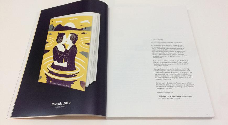 Llibret falla Selgas Xativa Blauverd Impressors foto 2