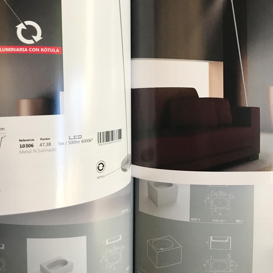 Impresion offset con laca acrilica Blauverd Impressors