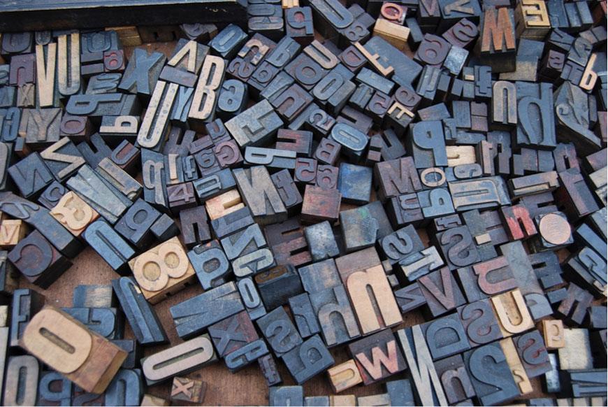 La tipografia de tu proyecto Blauverd Impressors