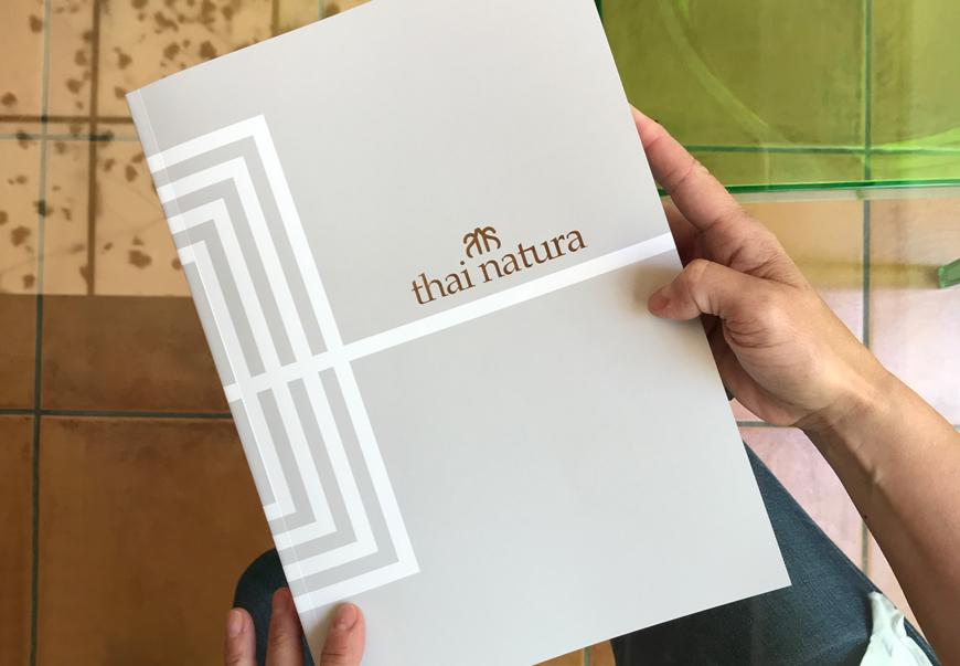 Nueva impresión del catálogo de Thai Natura