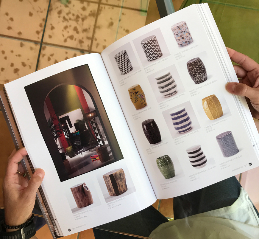 impresión del catalogo Thai natura Blauverd Impressors