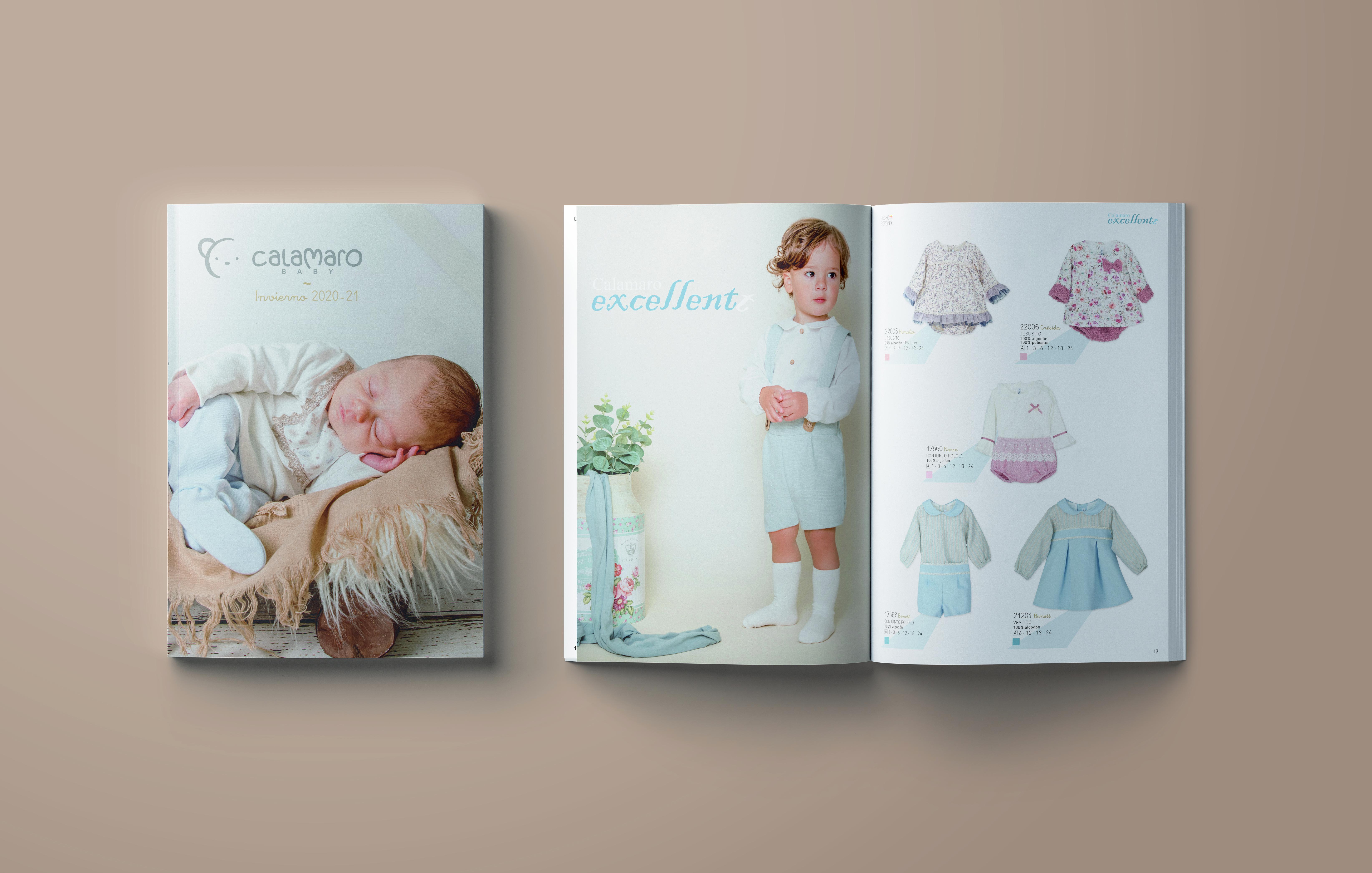 Calamaro Baby, el nuevo catálogo para el invierno 2020-21