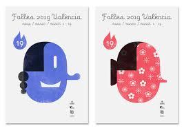 Evolución del diseño de los carteles de fallas