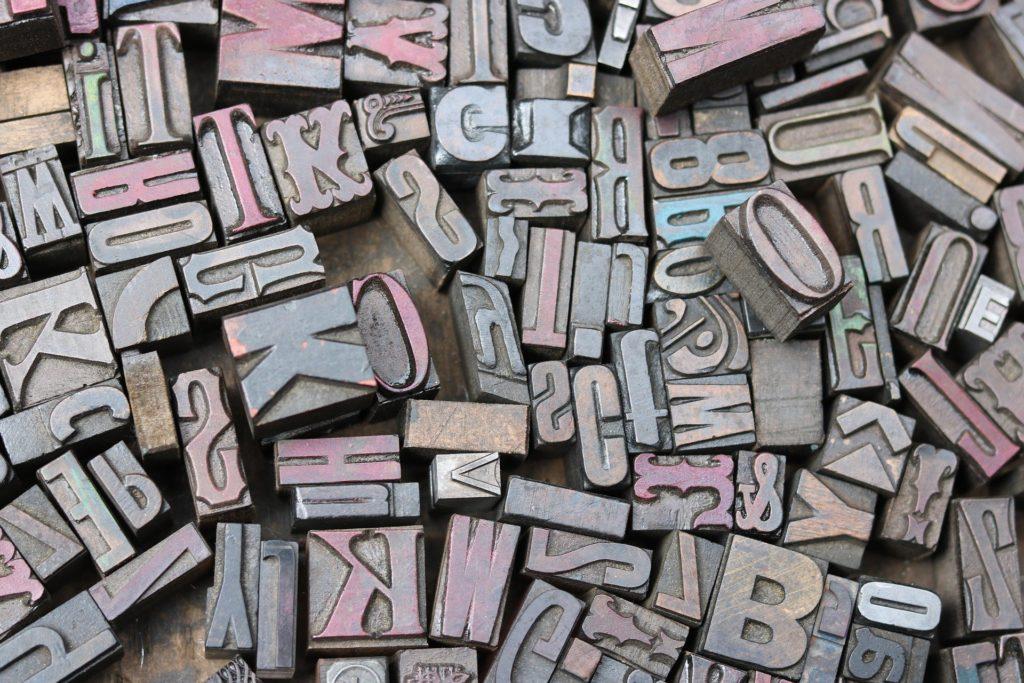 El origen de la tipografía