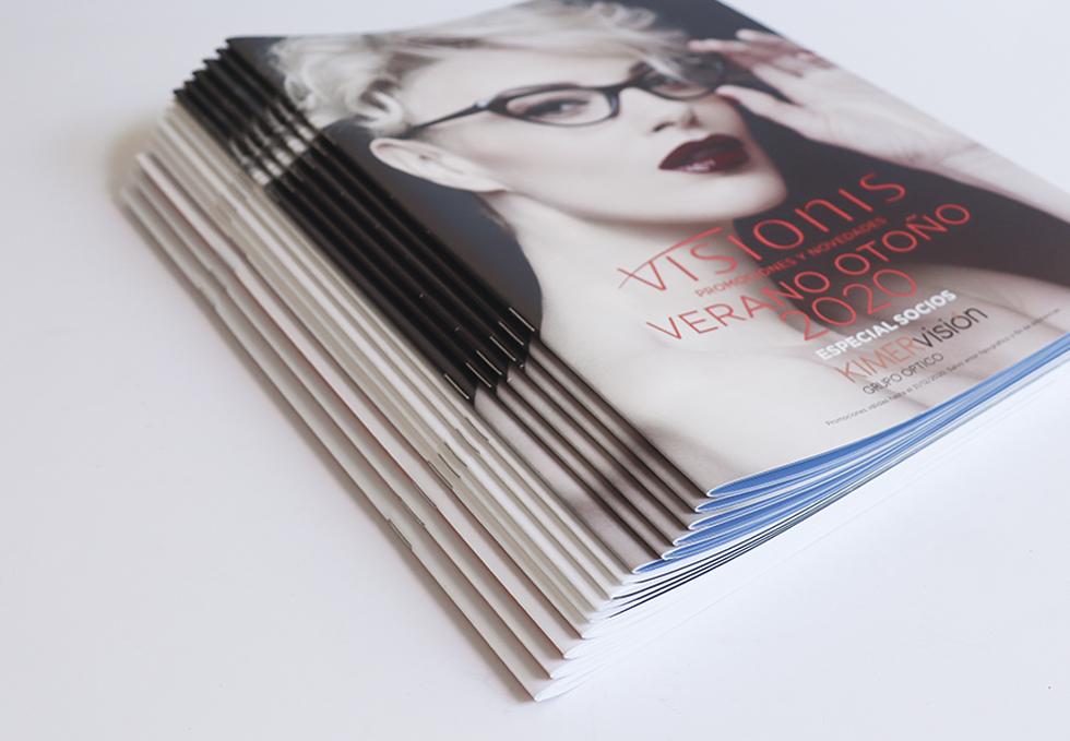 Imprimir revistas personalizadas o magazines