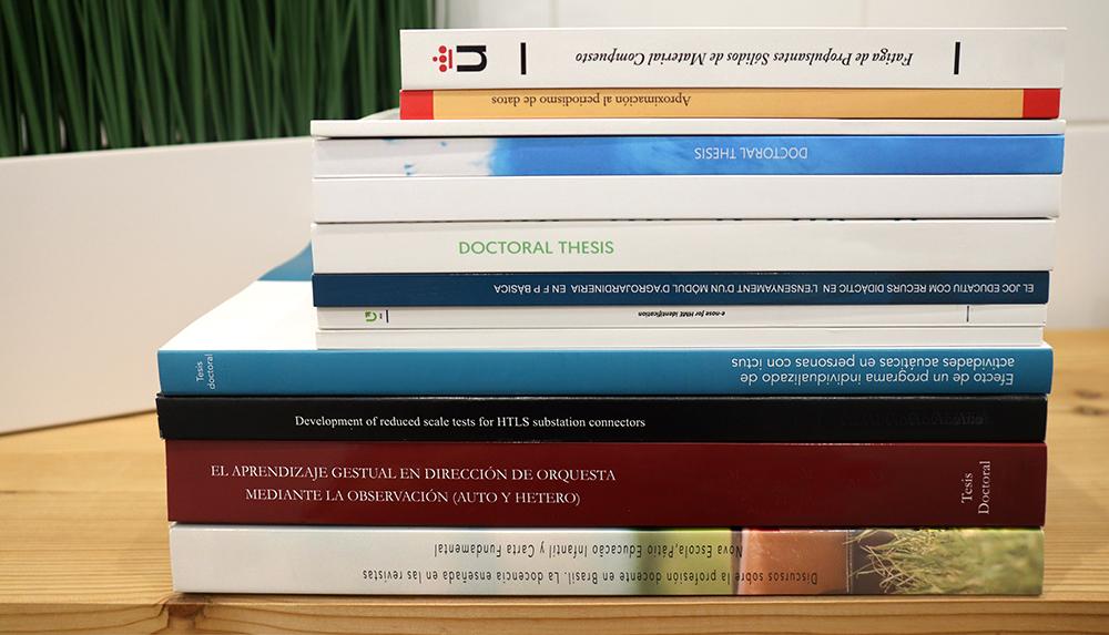 Tesis doctorales, TFG y TFM